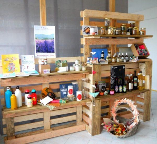 L'Empreinte Locale commerçant Vitrines de Peynier
