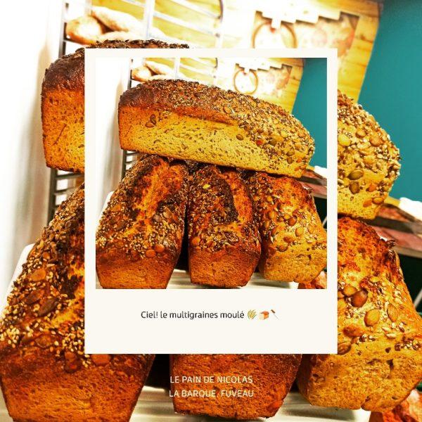 la pain de Nicolas - artisan Vitrines de Peynier
