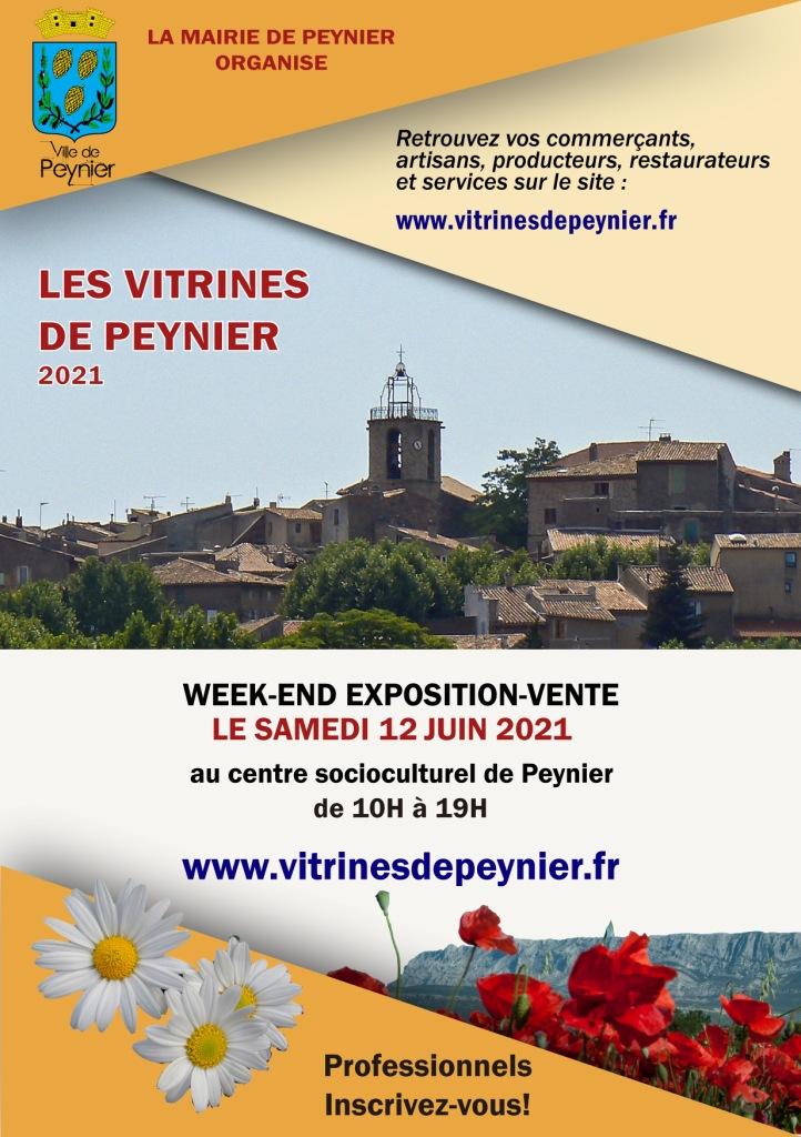 Week-end Expo-Vente 12 juin 2021 - Vitrines de Peynier