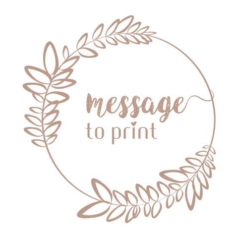 Message to print - Vitrines de Peynier