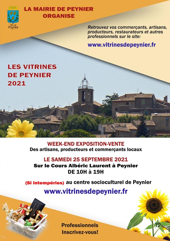 Week-end Expo-Ventre des Vitrines de Peynier- 25 septembre 2021